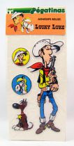 Lucky Luke - Adhésifs Relief (Les Pégatinas) 1984 - Set #1