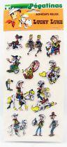 Lucky Luke - Adhésifs Relief (Les Pégatinas) 1984 - Set #4