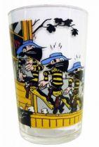 Lucky Luke - Amora Mustard Glass - Daltons are arrested by Lucky Luke