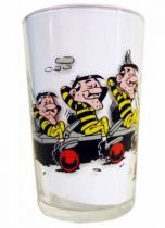 Lucky Luke - Amora Mustard Glass - Daltons is in Jail