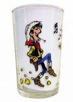 Lucky Luke - Amora Mustard Glass - Lucky Luke dances Country