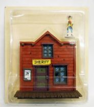 Lucky Luke - Atlas Editions - Lucky Luke with Nugget Gulch\'s Sheriff Office