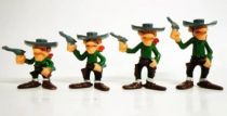Lucky Luke - Brabo - Plastic Figures - the Daltons