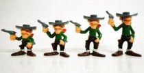 Lucky Luke - Brabo - Plastic Figures - the Daltons