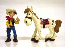 Lucky Luke - Bully - pvc figure Lucky Luke & Jolly Jumper