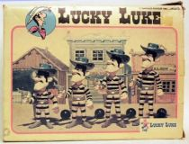 Lucky Luke - Ceji  - Mint in box action figures The Daltons brothers
