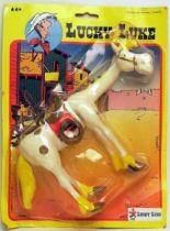 Lucky Luke - Ceji - Mint on card Bendable Jolly Jumper