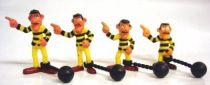 Lucky Luke - Comansi - PVC Figures - the Daltons