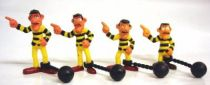 Lucky Luke - Comansi - PVC Figures - the Daltons