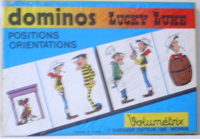 Lucky Luke - Domino game Volumetrix