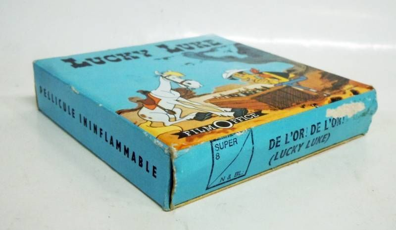 Lucky Luke - Film Office Super 8 Film - Gold! Gold!