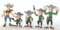 Lucky Luke - Jim - Set of 5 Figures