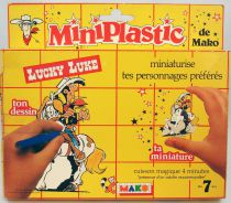 Lucky Luke - Mako - Colorform Shrinky Dinks set