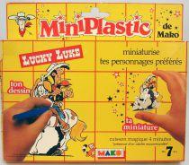 Lucky Luke - Mako - Colorform Shrinky Dinks set