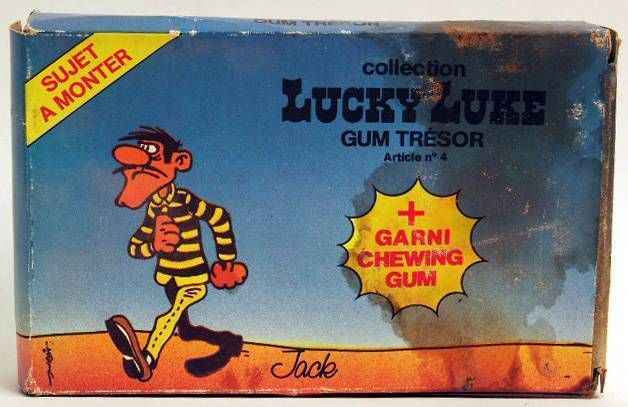 Lucky Luke - May - Jack Dalton figure to assemble