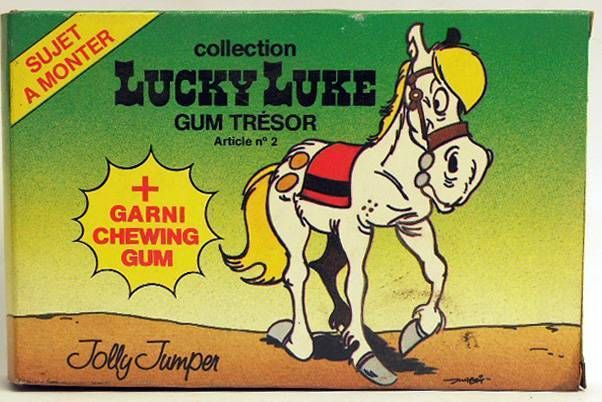 Lucky Luke - May - Jolly Jumper figure to assemble