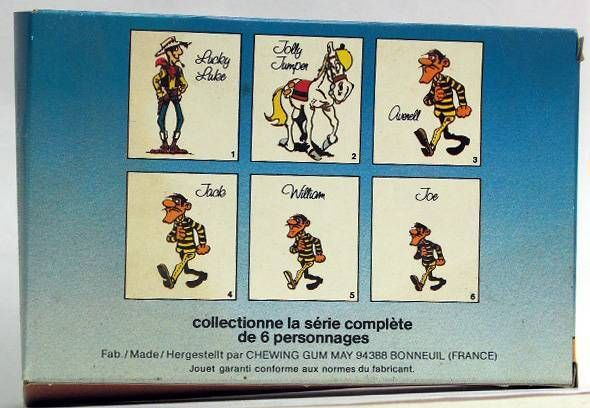 Lucky Luke - May - William Dalton, figure to assemble