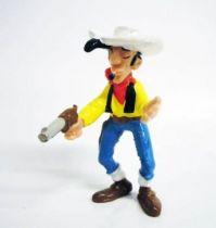 Lucky Luke - M.D. Toys - PVC figure Lucky Luke with gun and cigarette