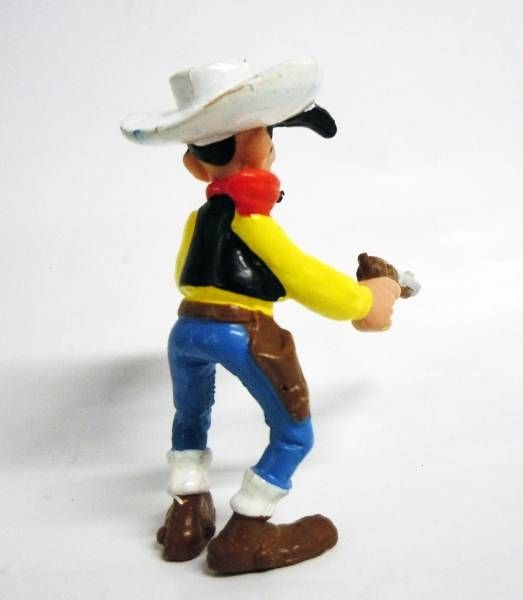 Lucky Luke - M.D. Toys - PVC figure Lucky Luke with gun and cigarette