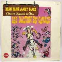 Lucky Luke - Mini-LP Record - Original French Movie Soundtrack - Saban Records 1983