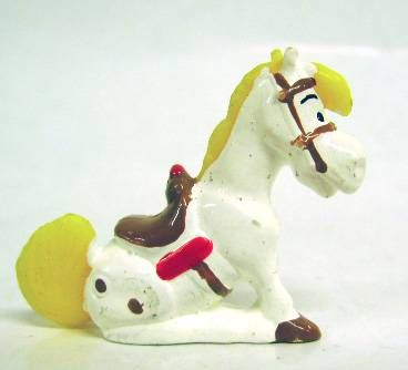Lucky Luke - Mini Plastic Figures - Jolly Jumper
