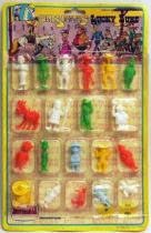 Lucky Luke - Novolinea - Monocolor figures carded Set  of 20