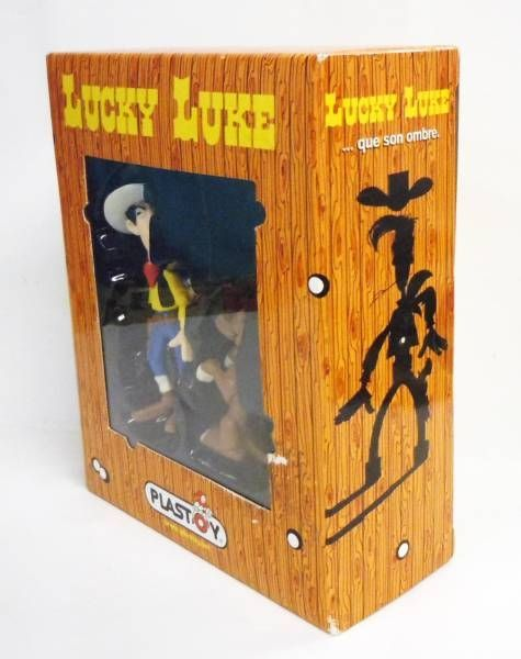 Lucky Luke - Plastoy - pvc figure Lucky Luke and Rantanplan (mint in box)