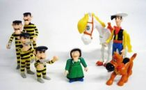 Lucky Luke - Quick  - Premium Plastic Figures - Set of 8 action figures