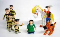 Lucky Luke - Quick  - Premium Plastic Figures - Set of 8 action figures
