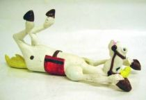 Lucky Luke - Resine Prototype - Horse laid down on the back (articulated) Jolly Jumper