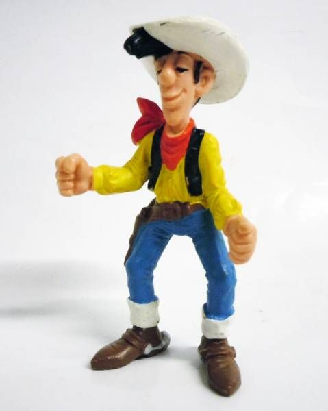 Lucky Luke - Schleich - pvc figure Lucky Luke with closed fist