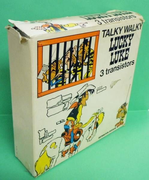 Lucky Luke - Talky Walky (Distribution Radialva 1974)