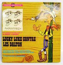 Lucky Luke vs. Dalton brothers - 45t Record-Story book - Philips Records 1964