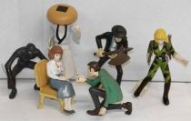 Lupin - Gashapon Collection - Complete set #3 - Bandai