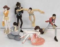 Lupin - Gashapon Collection - Complete set #4 - Bandai