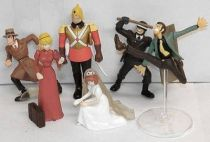 Lupin - Gashapon Collection - Complete set #5 - Bandai