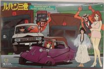 Lupin the 3rd - Ready-to-assemble model-kit mint in box - Gunze Sangyo