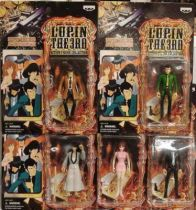 Lupin the 3rd - Set of five carded action figures - Banpresto