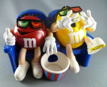 M&M\'s candu dispenser - Red and Yellow at the theaters