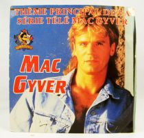 MacGyver - Disque 45Tours - Carrère 1990