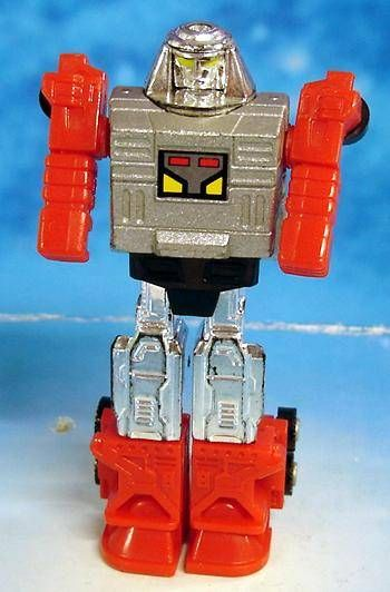 Machine Robo Gobot (loose) - Block Head