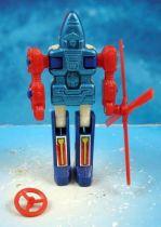 Robo-Machine Gobot (loose) - Cop-Tur (red blades)