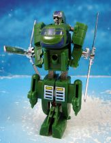 Machine Robo Gobot (loose) - Twin Spin (green)