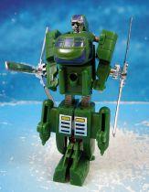 Machine Robo Gobot (loose) - Twin Spin (green)
