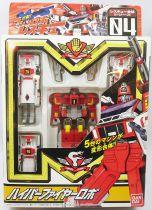 Machine Robo Rescue - MRR-04 Hyper Fire Robo