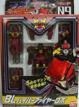 Machine Robo Rescue - MRR-09 BL Hyper Fire Robo