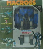 Macross VF-1J Variable fighter 1/55e Blue Mint