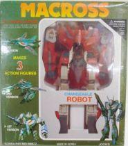 Macross VF-1J Variable fighter 1/55e Red Mint
