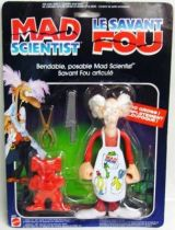 Mad Scientist - bendable figure - Mattel