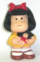 Mafalda and her doll Maia + Borges Squeeze toy